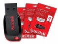 Sandisk 8 GB Pen Drive & Memory Cards