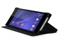 Official Sony Style Cover Stand Case for Xperia Z2 - Black
