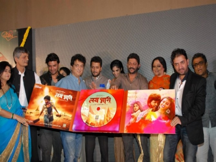 Riteish promotes Lai Bhaari on TV